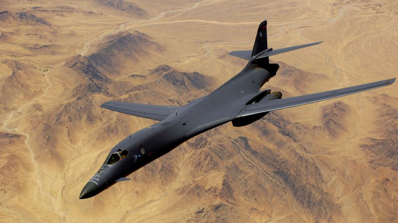 B-1, Lancer, supersonic, strategic bomber, Rockwell, U.S. Air Force, Boeing