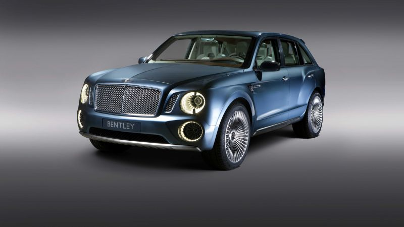 Bentley Bentayga, SUV, test drive (horizontal)
