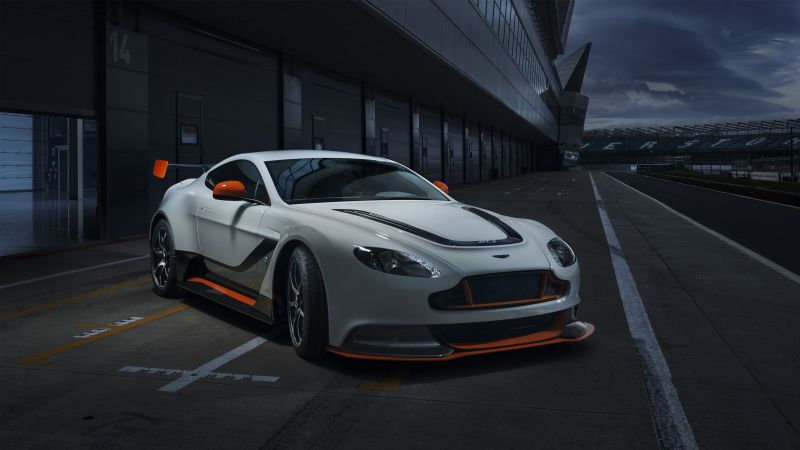 Aston Martin Vantage GT3, coupe, racing, test drive (horizontal)