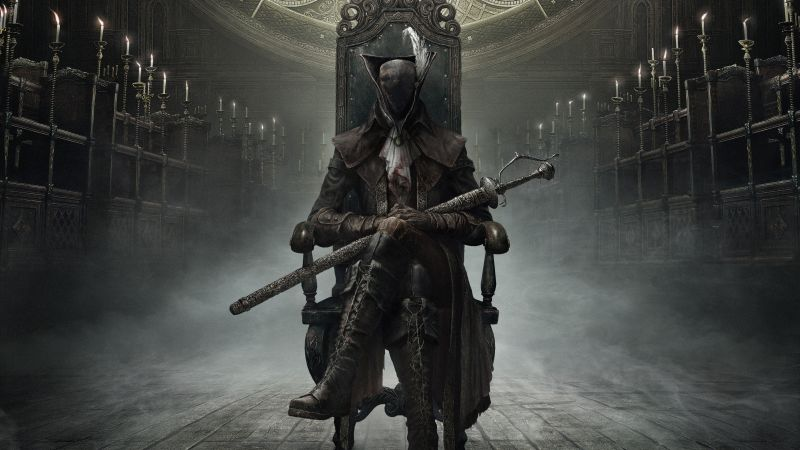 Bloodborne: The Old Hunters : Hunter, Action, Role Playing (RPG), PS4, Fantasy, Horror, Best Game (horizontal)