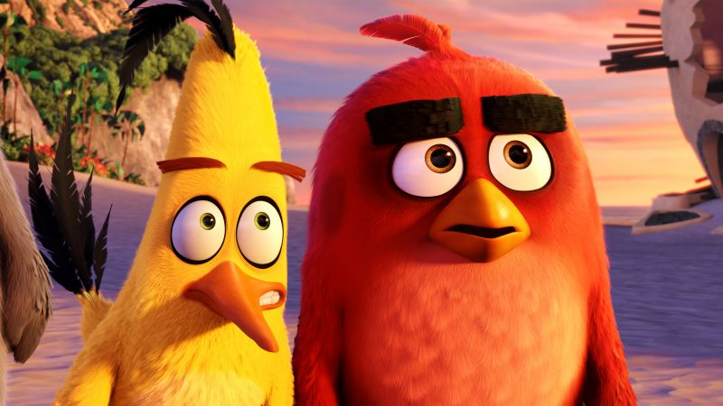 Angry Birds Movie, chuck, red, Best Animation Movies of 2016
