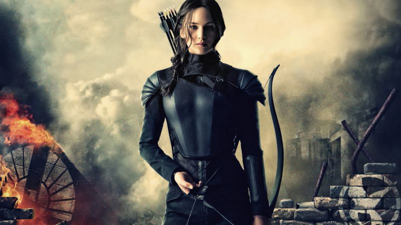 The Hunger Games, Mockingjay - Part 2, movie, Jennifer Lawrence