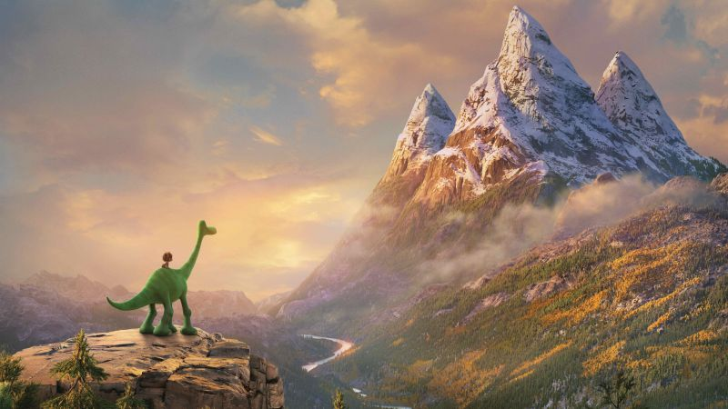 The Good Dinosaur, mount