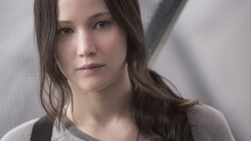 The Hunger Games, Mockingjay - Part 2, Katniss, movie, Jennifer Lawrence (horizontal)