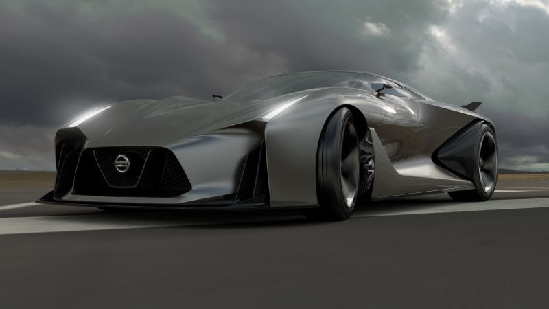 Nissan 2020 Vision Gran Turismo, concept, Nissan, supercar, luxury cars, sports car, speed, test drive (horizontal)