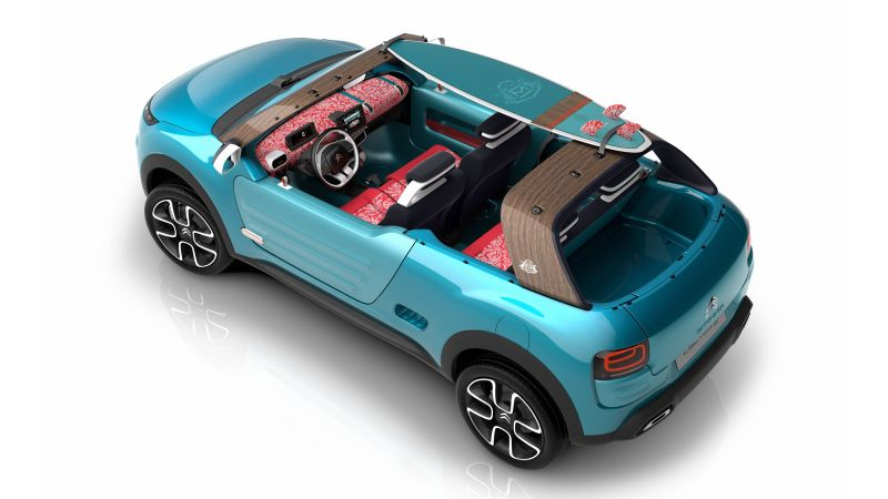 Citroen Cactus M, hybrid, city car, crossover, 2015 car, concept, supercar, luxury cars, sports car, cars of 2016