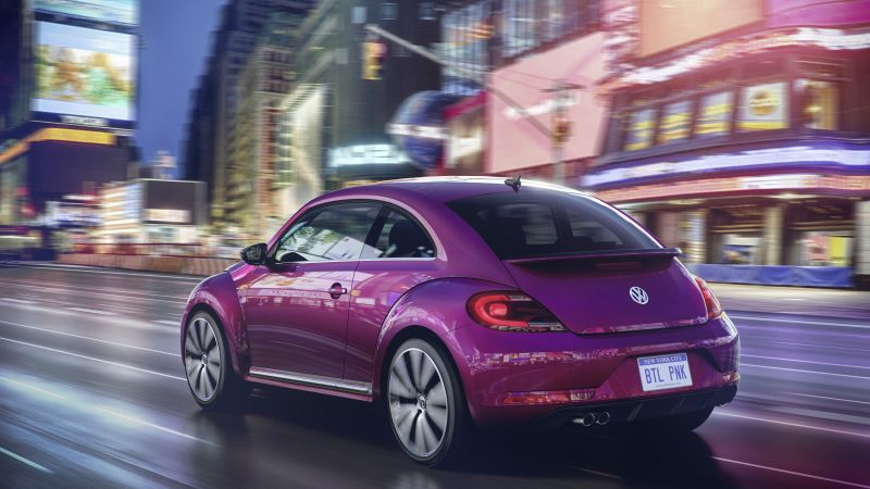 Volkswagen Beetle, Pink Edition, pink, Concept, cars 2016 (horizontal)