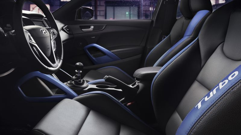 Hyundai Veloster, Rally Edition, interior, sports car, rally, hyundai (horizontal)