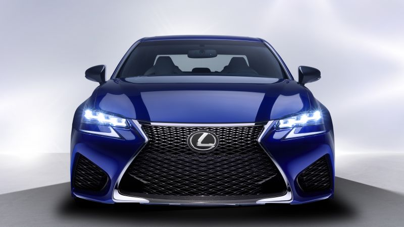 Lexus GS F, supercar, interior, luxury cars, test drive