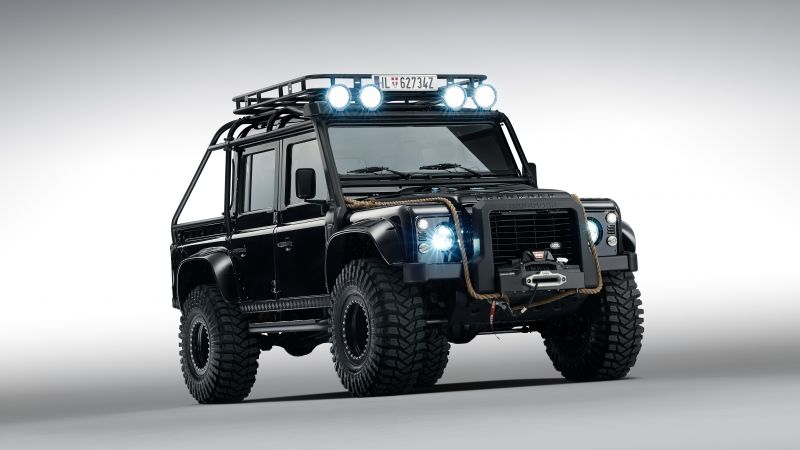 Land Rover Defender 110, 007 Spectre movie (horizontal)