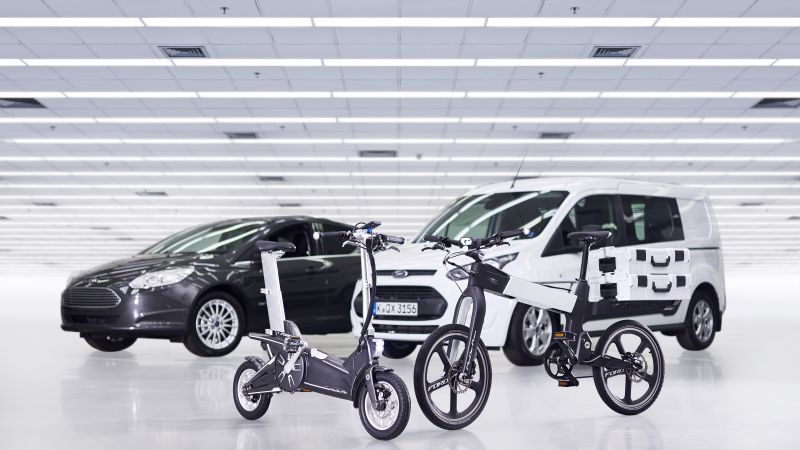 Ford Mode Flex, electric, bicicle
