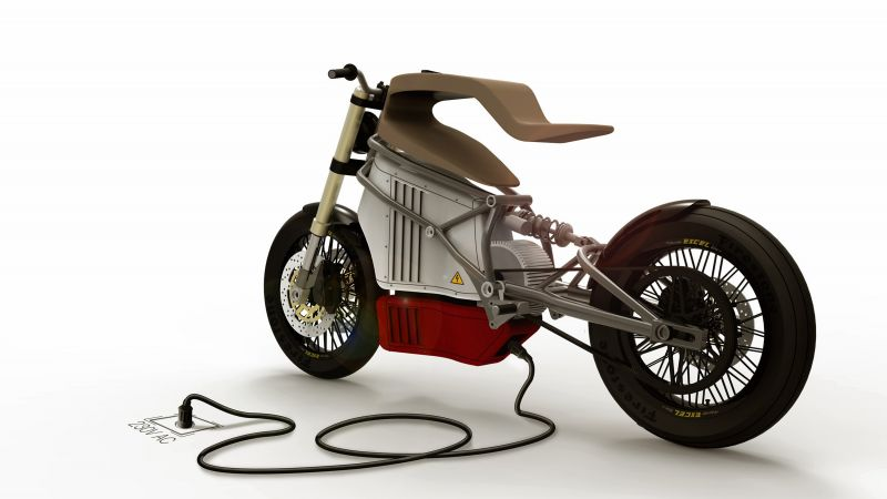 E-Raw, electric, motorcycle, racer, motorcycles of future (horizontal)