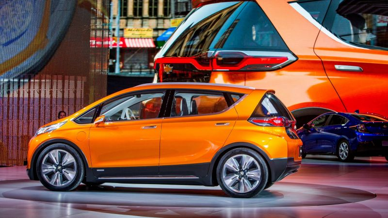 Chevrolet Bolt EV, Chevy, electrocar, electric cars, LG-mobile, concept