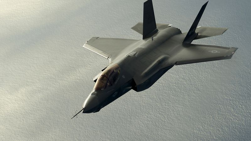 Lockheed F-35 Lightning II, USA army, fighter aircraft, air force, USA