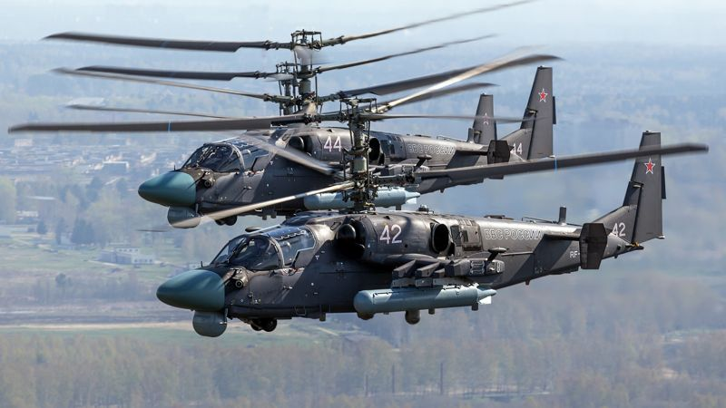 Kamov Ka-52 Alligator, Russian army, fighter helicopter, air force