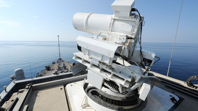 Laser Weapon System, LAWs, USA Army, United States Navy