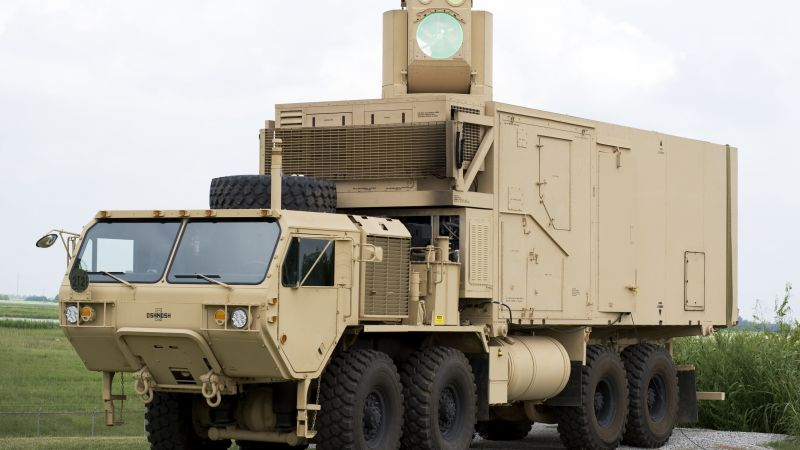 Boeing HEL MD, The High Energy Laser Mobile, USA Army