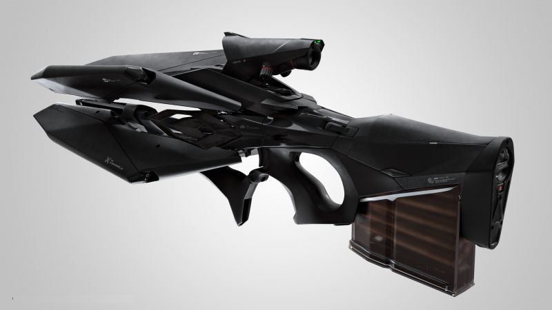Epic A3, electromagnetic, machine gun (horizontal)