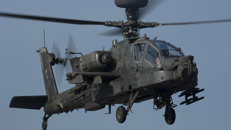 Apache AH-64, attack helicopter, US Army, U.S. Air Force