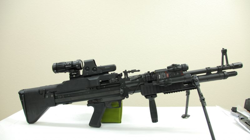 M60, machine gun (horizontal)