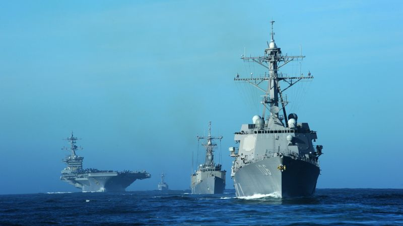 USS Stockdale, DDG-106, Arleigh Burke-class, guided missile destroyer, USA Navy (horizontal)