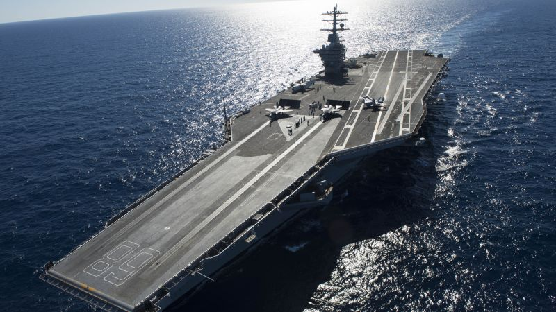 USS Gerald R. Ford, CVN-68, lead ship (horizontal)