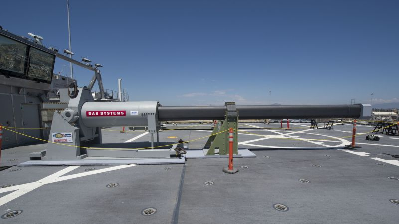 Hypersonic Railgun, Electromagnetic Railgun, U.S. Navy