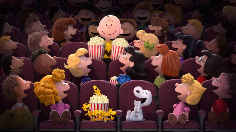 Wallpaper The Peanuts Movie, Cartoon, Film, Movie, Dog