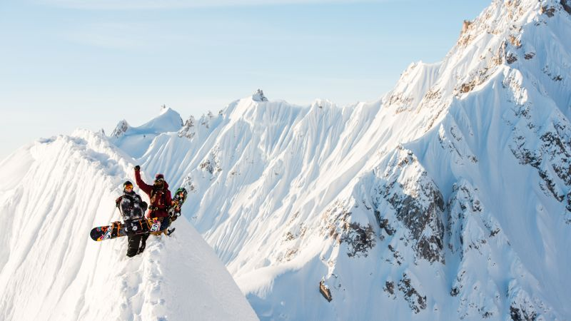 The Fourth Phase, Travis Rice, snow, mountains, snowboarding
