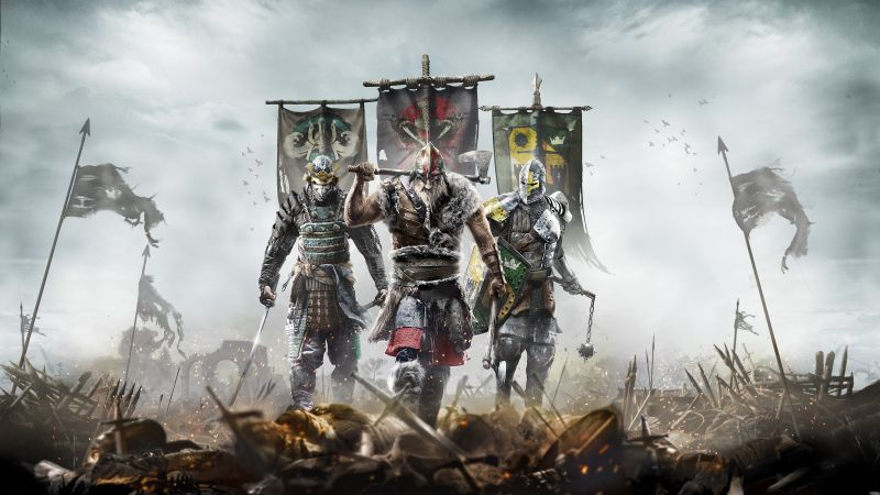 For Honor, BestGames, game, PC, PS4, Xbox One (horizontal)