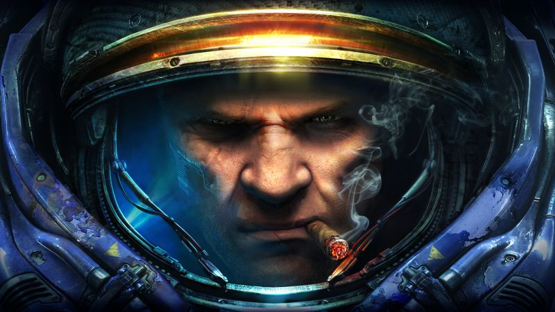 Starcraft 2: Wings of Liberty, Best Game, sci-fi, PC (horizontal)