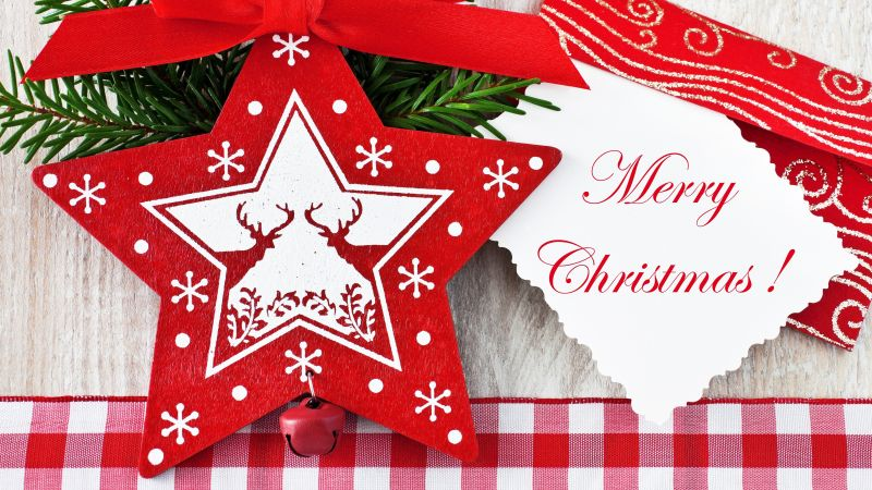 Christmas, decorations, star, card,