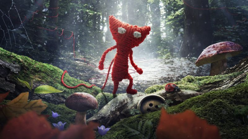 Unravel, Best Game, game, quest, arcade, fairytale, PC, PS4, Xbox One (horizontal)