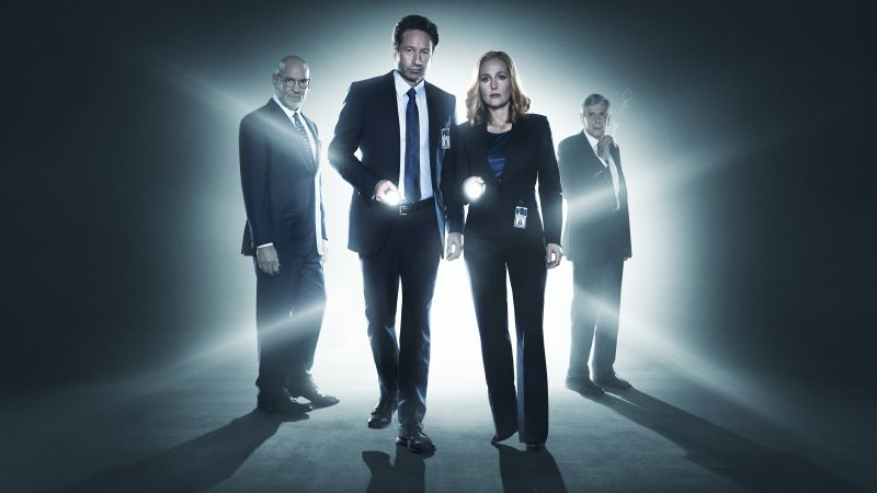 The X-Files, David Duchovny, Best TV series, detective (horizontal)