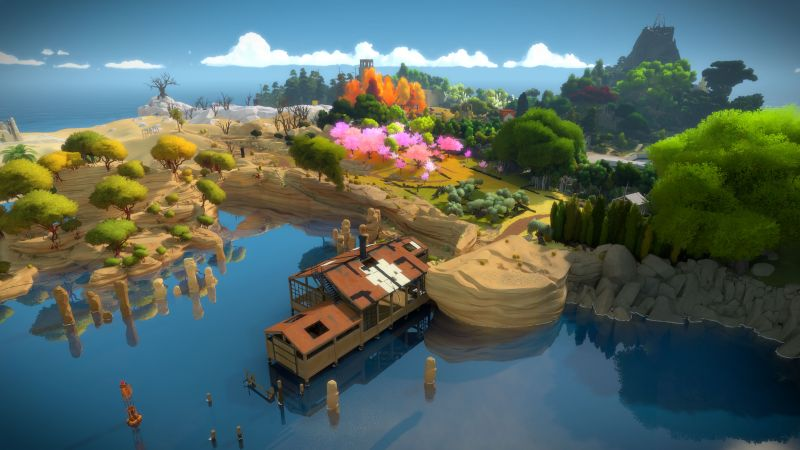 The Witness, puzzle, quest, PC, Xbox One, PS4 (horizontal)