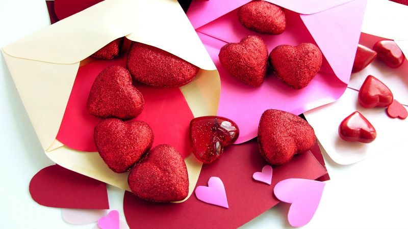 Valentine's Day, heart, letter, decorations, romantic, love