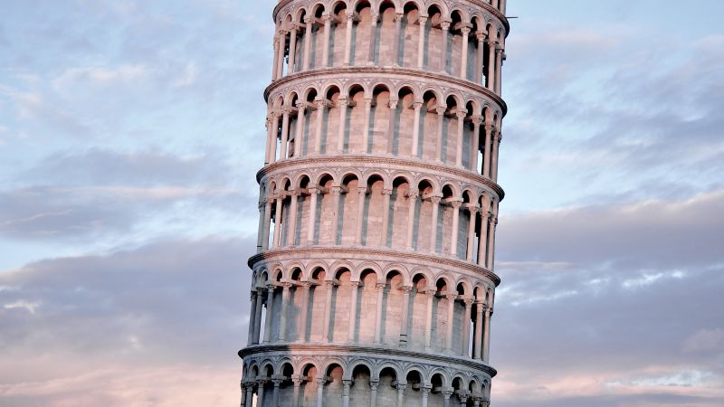Tower of Pisa, Pisa, Italy, travel, tourism, Leaning Tower of Pisa (horizontal)