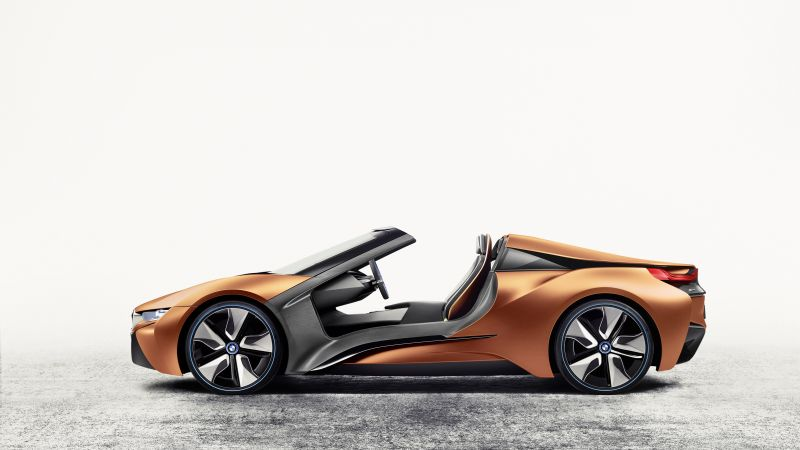 BMW i8 Spyder, CES 2016, Electric Car (horizontal)