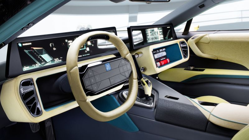 Etos, CES 2016, Electric Car, interior
