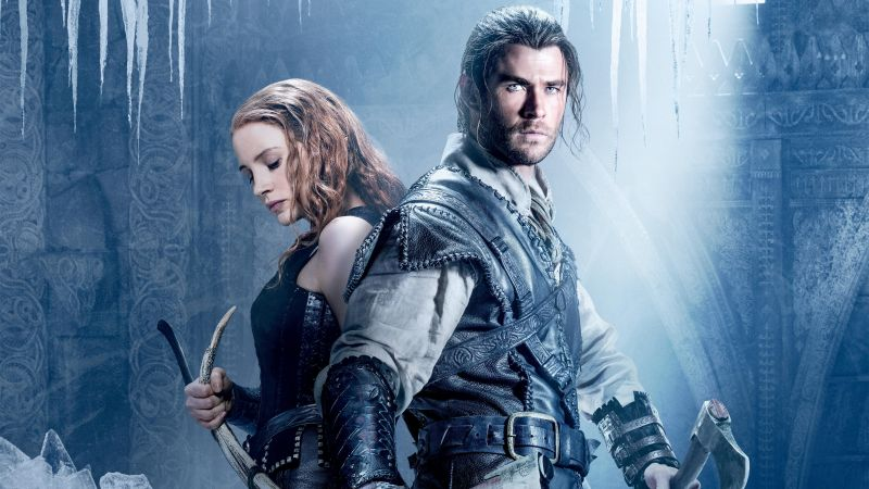 The Huntsman Winter's War, Jessica Chastain, Chris Hemsworth, Best Movies (horizontal)