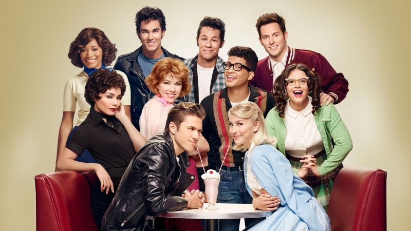 Grease Live!, Julianne Hough, Aaron Tveit, Best TV series (horizontal)
