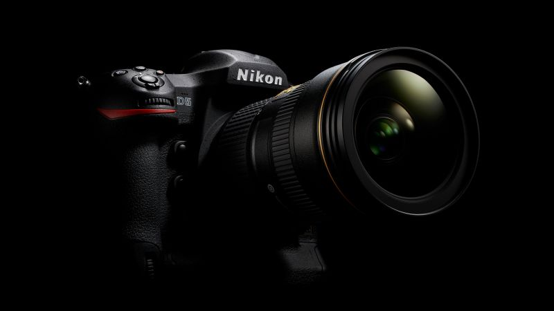 Nikon d5, camera, DSLR, digital, review, body, 4k video, lens, unboxing (horizontal)