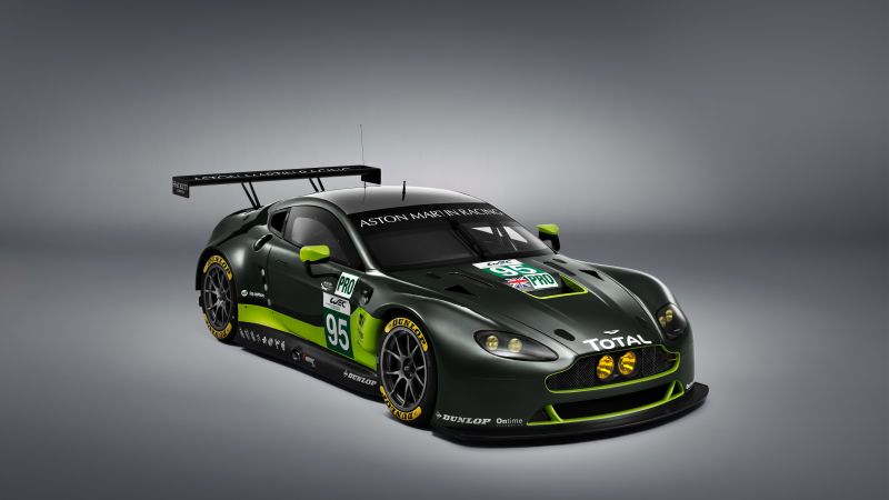 Aston Martin V8 Vantage GTE, racing cars (horizontal)