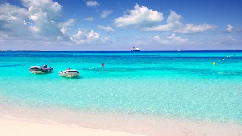 Playa de Ses Illetes, Formentera, Balearic Islands, Spain, Best beaches of 2016, Travellers Choice Awards 2016 (horizontal)