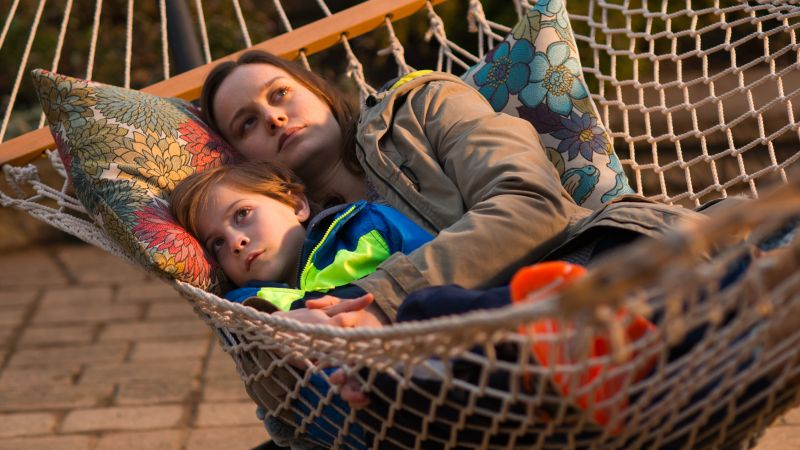 Room, Academy Awards, Oscar, Brie Larson, Jacob Tremblay (horizontal)