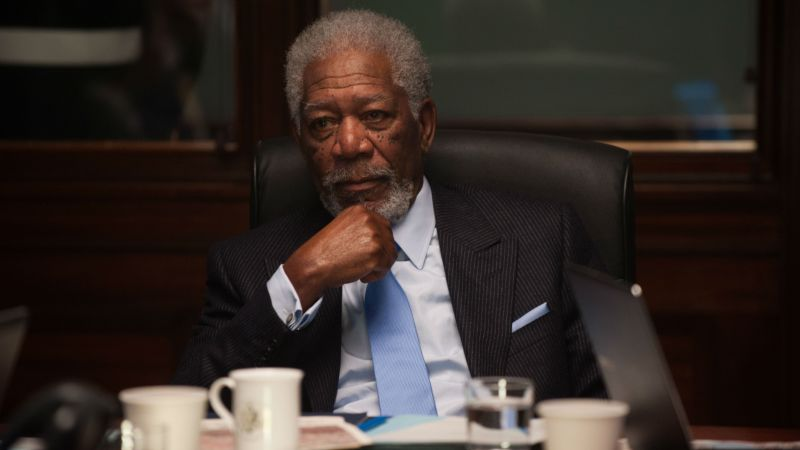 London Has Fallen, Morgan Freeman, Best movies, movie, crime (horizontal)