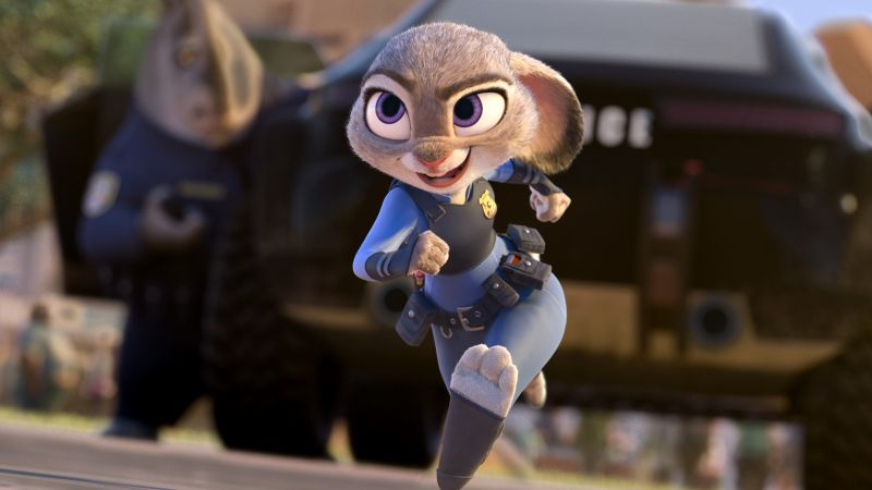 Zootopia, judy hopps, rabbit, Best Animation Movies of 2016, cartoon