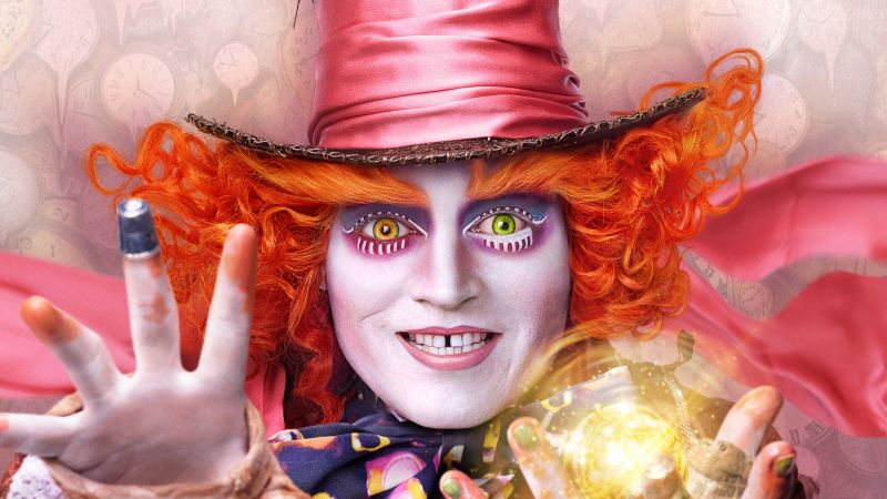Alice Through the Looking Glass, Johnny Depp, best movies of 2016 (horizontal)