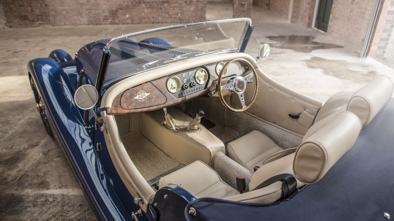 Morgan 4/4, 80th Anniversary, Geneva Auto Show 2016, interior (horizontal)