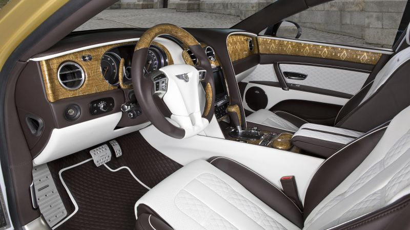 Mansory Bentley Continental, Flying Spur, Geneva Auto Show 2016, interior